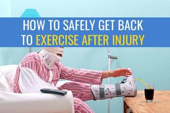 受伤后如何安全地恢复跑步/锻炼