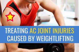 举重致AC关节损伤的治疗