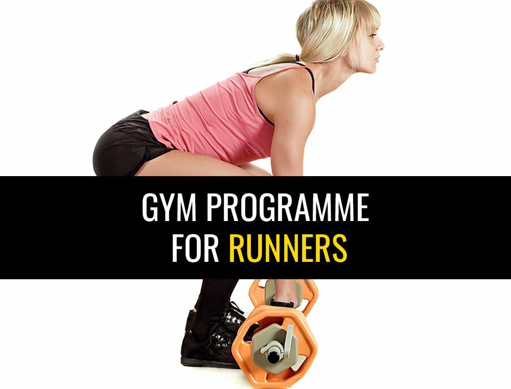 Gym strength training programme for runners.