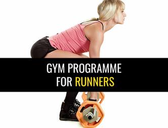 跑步者的健身房锻炼