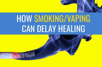 吸烟或电子烟如何延迟伤口愈合