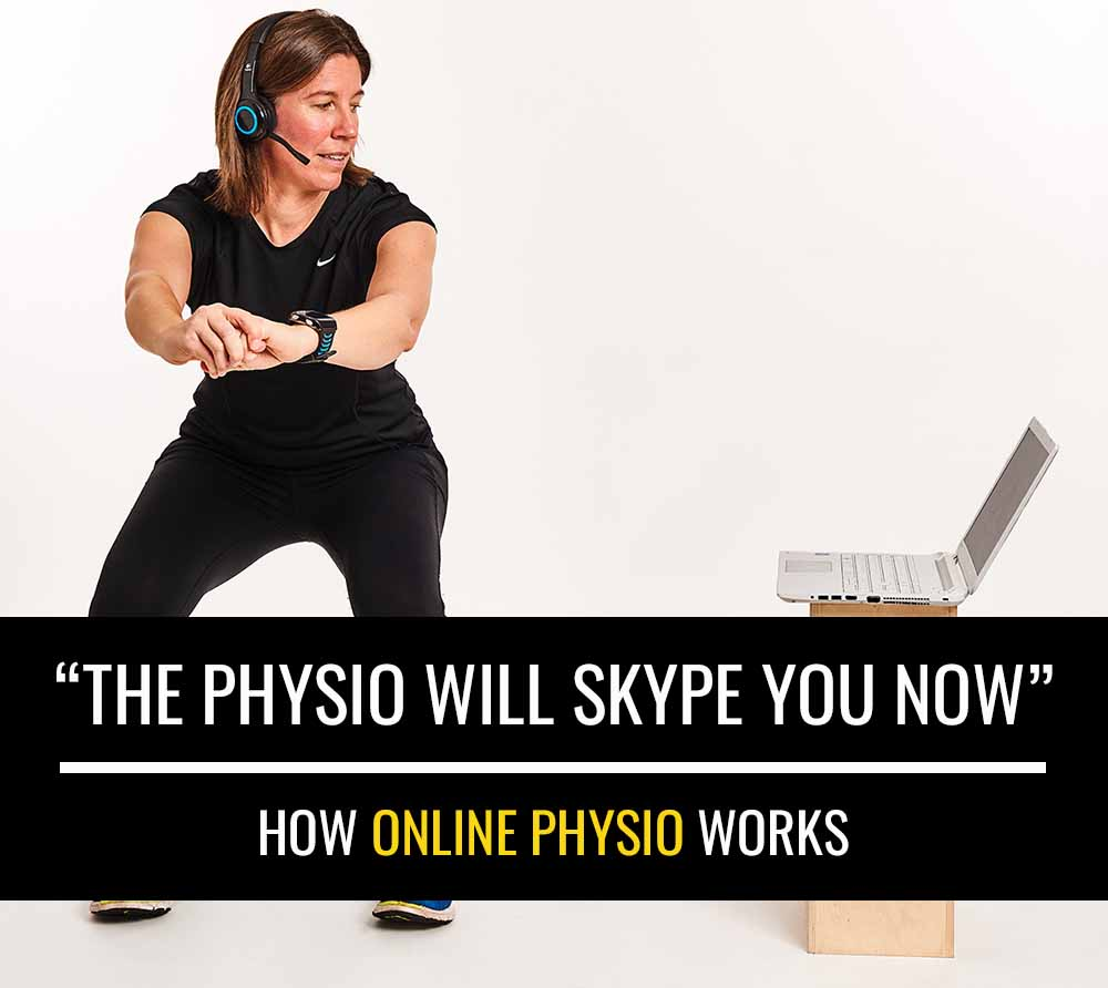 """The physio will Skype you now"" – How online physiotherapy works"