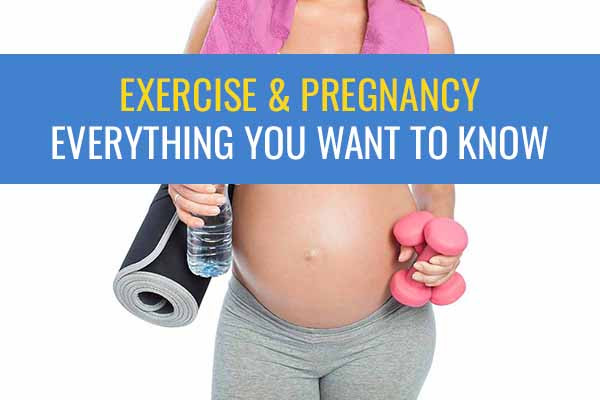 Learn about exercise in pregnancy. What is good and what is too much?