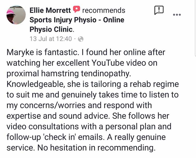 Online Physio Review by Ellie Morrett