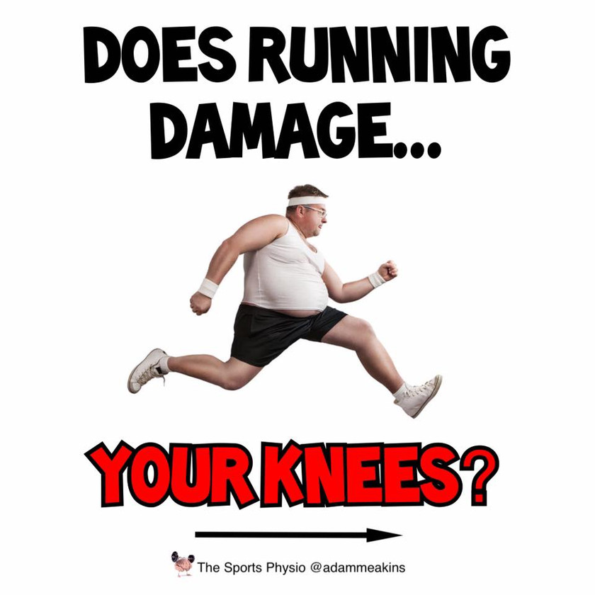 Does running damage your knees?