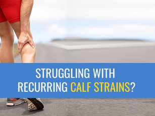 Are you struggling to make a comeback after a calf muscle strain?