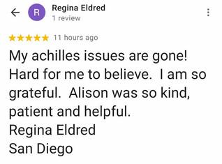 Online Physio Review: Regina Eldred