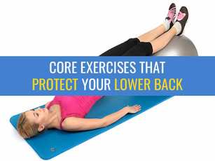 Core exercises that protect your back