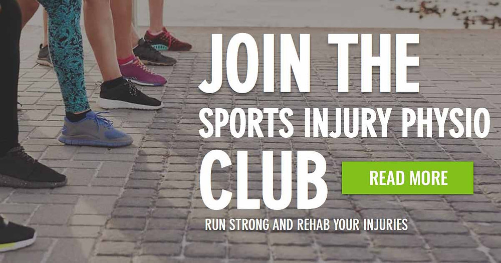 The Sports Injury Physio Club is an online injury prevention and treatment club for runners. Follow the link to learn more