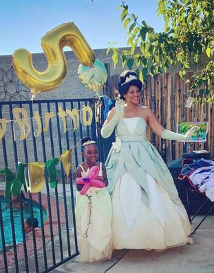 Princess Tiana party