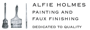 Alfie Holmes Painting & Faux Finishing Logo