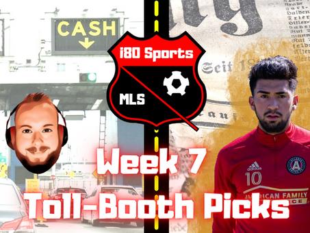 "Article- The Week 7 MLS ""Toll Booth"" Sportsbook Picks"