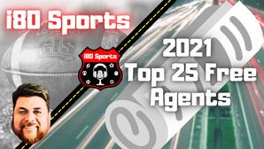 2021 Top 25 Fantasy Free Agents