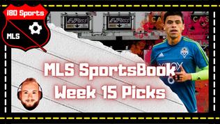 the i80 Sports MLS Toll Booth- Week 16 MLS Sportsbook Picks