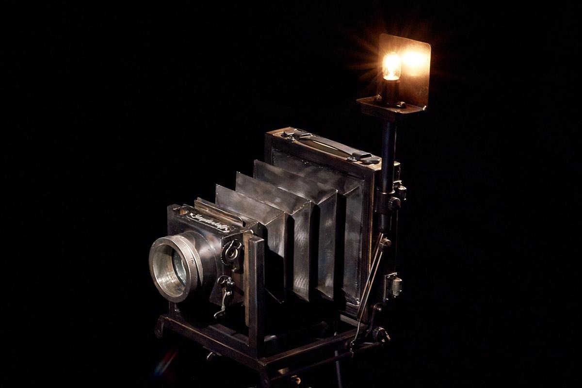 """Светильник """"Старый фотоаппарат"""""""