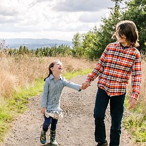 Emily + Kiddos Cooper Mountain Love!