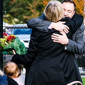 Dalrymple Family at Cedar Hills Park Field Dedication