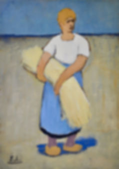 Eugène Laermans - Petite Paysanne