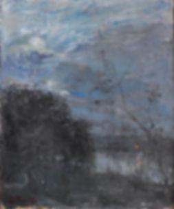 Guillaume Vogels - Effet du soir, l'étang