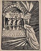 Jules De Praetere - Le Cloitre, La prière du Mourant