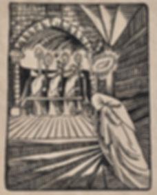 Jules DE PRAETERE - Le Cloitre (La Prière du Mourant)