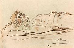 "Armand Rassenfosse ""Une Charogne"""