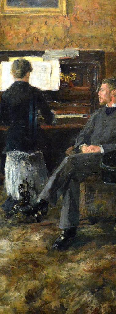 """James ENSOR """"Musique Russe"""", 1881"""