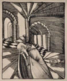Jules DE PRAETERE - Le Cloitre (La Méditation)