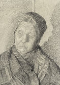 Maurice Soudan - Symbolist Selfportrait, 1910