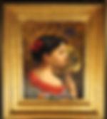 Carl Nys - La petite Japonaise - 1881 - Framed
