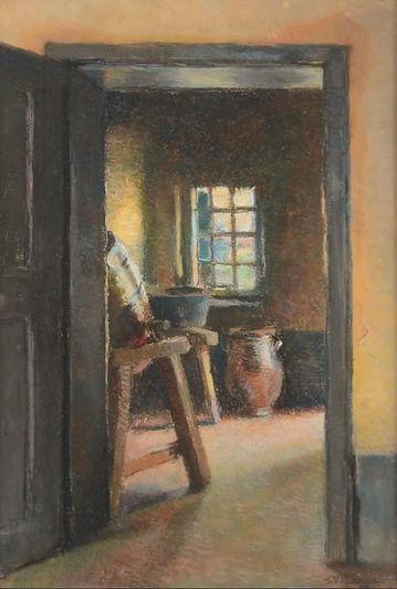 Jean Vanden Eeckhoudt - Intérieur - 1897