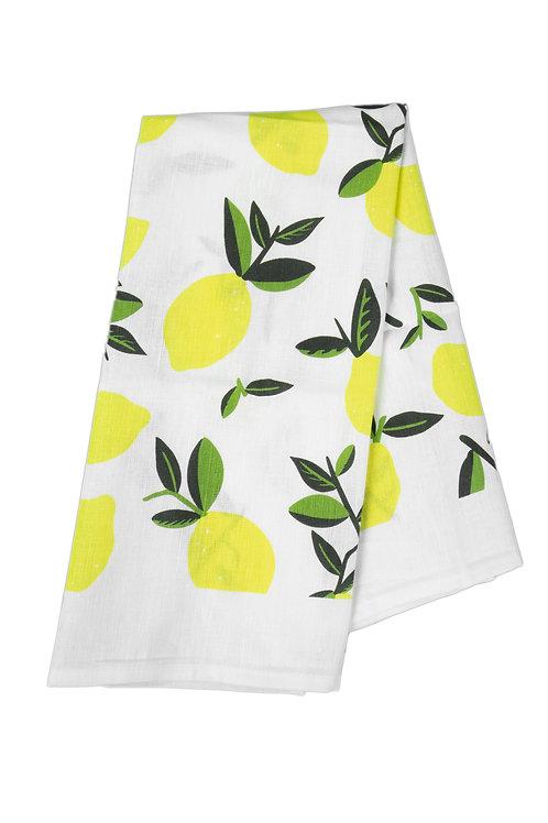 Tea Towel Citrus Lemon