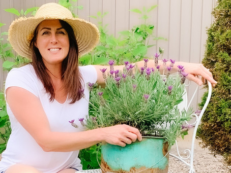 AN EASY VINTAGE HERB AND VEGGIE GARDEN, WITH TASTY RECIPES.