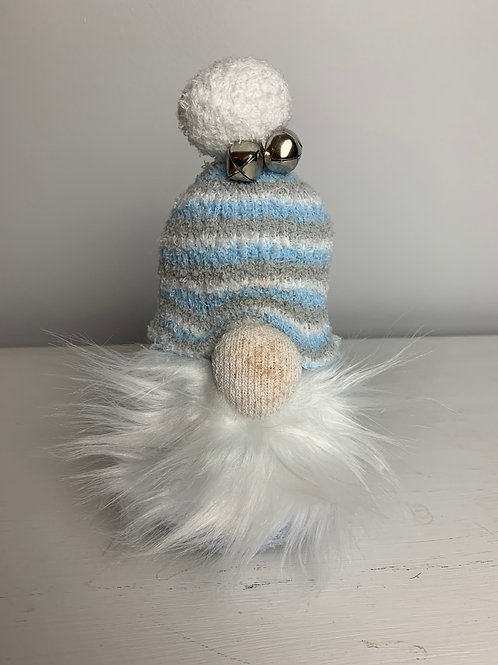 Blue and Gray Hat Gnome