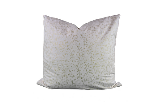 Gold Dot Holiday Pillow Covers