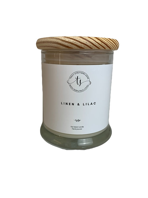 Linen and Lilac Candle 8 oz