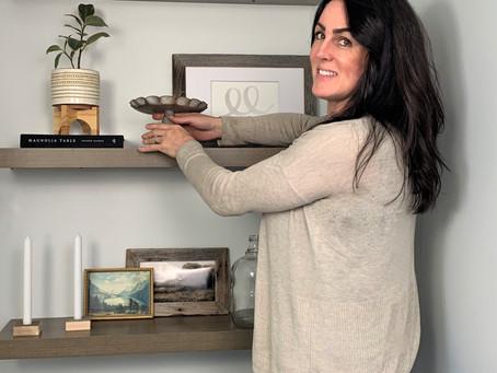 DIY Home Shelf Decorating. My 6 Key Pieces.
