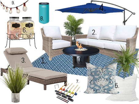 10 Ways to Have The Perfect Patio this Summer.