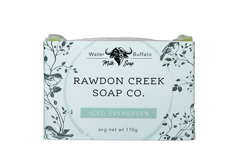Iced Evergreen Soap