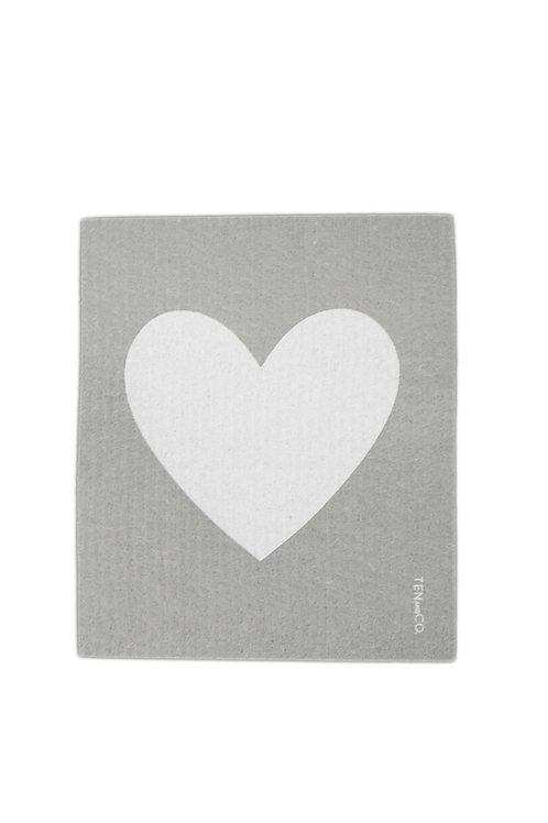 Big Love Grey Sponge Cloth