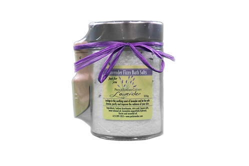 PEC Lavender Fizzy Bath Salts