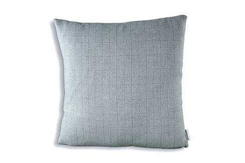 The Aila - Gray Plaid Cover 16x16