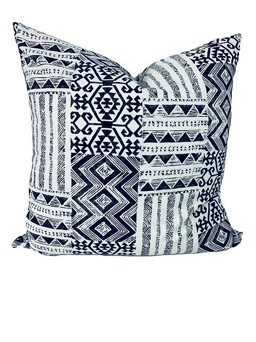 Black Triangle, Boho Pillow Cover