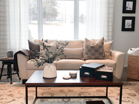 How To Create A Calmer, Organized Home While On Lockdown.