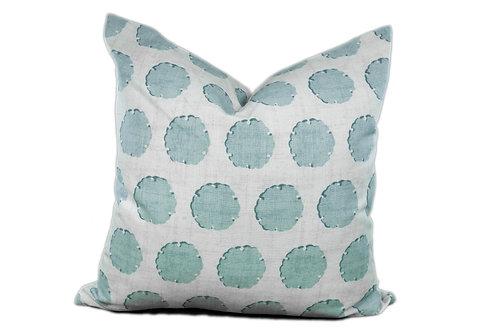 Nate 20x20 Stonewash Blue - Throw Pillow Cover