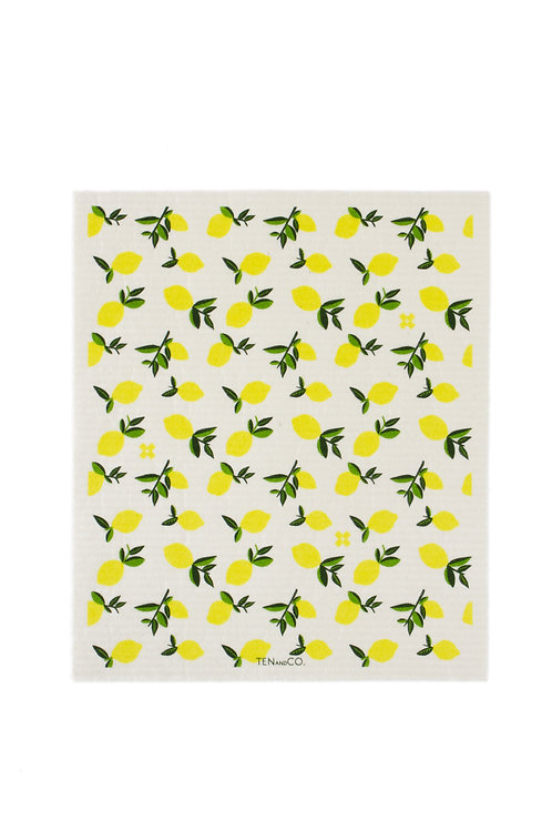 Large Sponge Cloth - Lemons