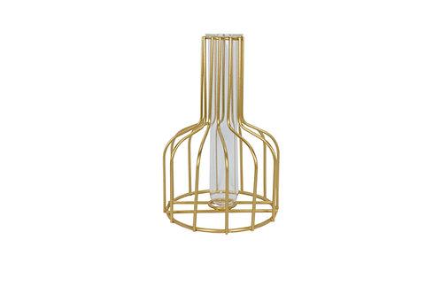 Gold Iron Nordic Vase