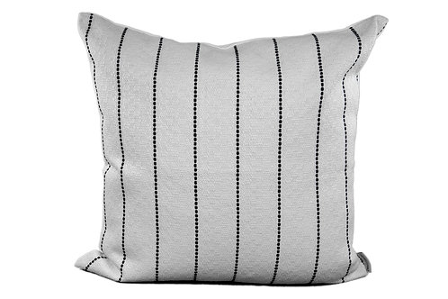 Off White - Black Stripe Pillow - Only 1 available