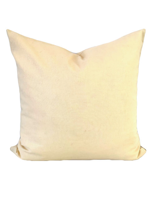 The Paige - Soft Yellow Pillow Cover 20x20