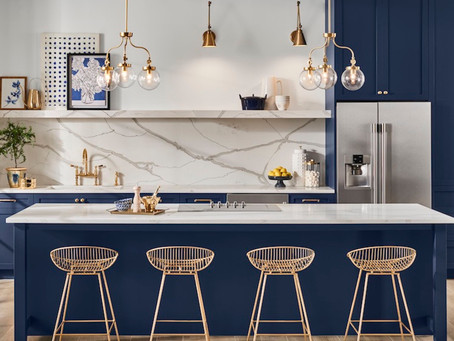 The Year of Blue. Tranquil Paint Colors for 2020
